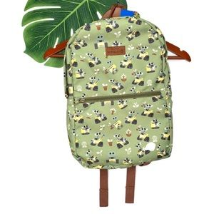 New Loungefly x Disney Wall E Foldable Backpack